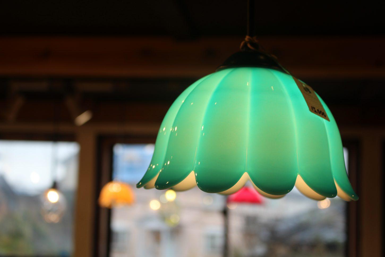 秋葉硝子、オリジナル、照明