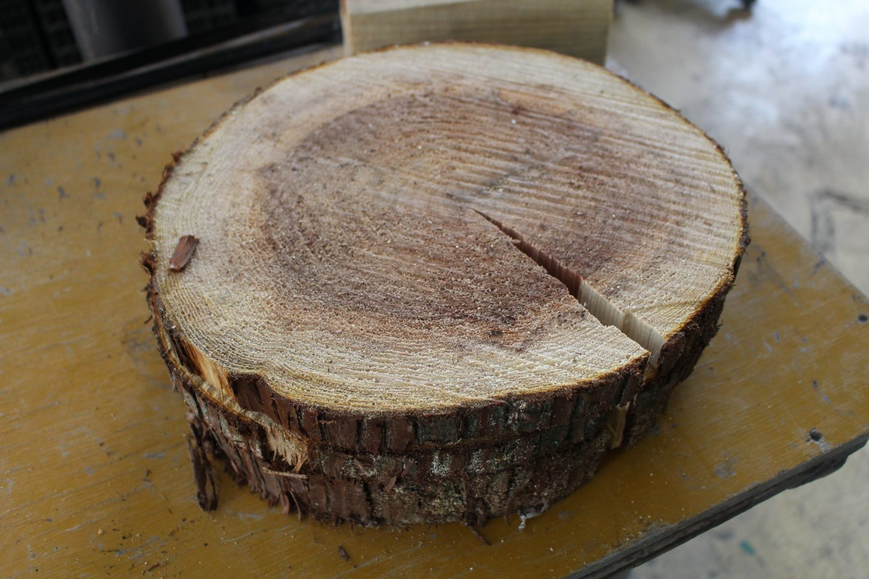 niimo、星野組、志田材木店、割れない丸太の皿、貫木産業