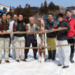 木地師と伝統と今の記念撮影