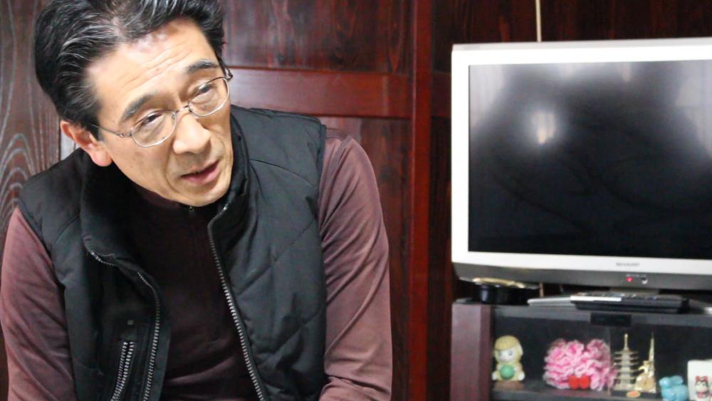 新潟大学農学部の神谷教授